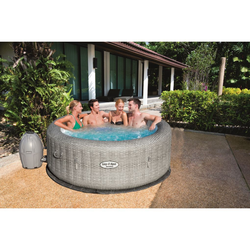 SPA INFLABLE HONOLULU AIRJET LAY Z BESTWAY 4 A 6 PERSONAS