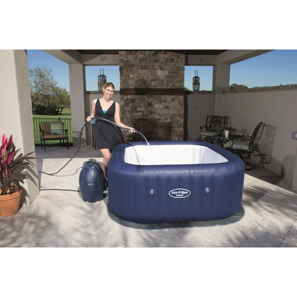 SPA INFLABLE HAWAII AIRJET LAY-Z BESTWAY 6 PERSONAS
